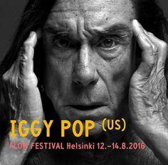 #IggyPop confirmed for #FlowFestival 2016