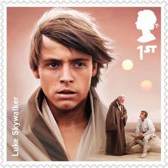 Royal Mail lança uma série de selos de Star Wars