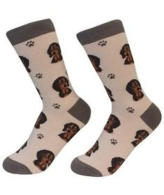 Dog lovers can stay cozy and look cool in these soft and colorful crew socks. Dog Socks, Crew Socks, Black Dachshund, Sock Shop, Sock Animals, Black Socks, Novelty Socks, Ankle Socks, Look Cool