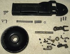 vintage Singer sewing machine model 319W parts