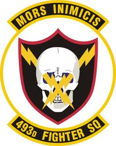 "493d Fighter Squadron Patch. The 493d Fighter Squadron (493 FS), nicknamed ""The Grim Reapers"", is part of the 48th Fighter Wing at RAF Lakenheath, England. The 493d FS is a combat-ready F-15 Eagle squadron capable of executing air superiority and air defense missions in support of United States Air Forces in Europe, United States European Command, and NATO operations. It employs air-to-air weapons and electronic identification systems."