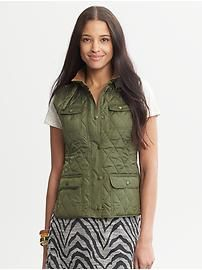 Quilted Vest from Banana Republic