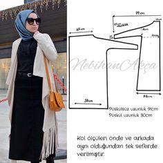 I am digging this cardigan. Abaya Fashion, Muslim Fashion, Skirt Fashion, Fashion Top, Hijab Mode, Suit Pattern, Hijab Chic, Dress Sewing Patterns, Indian Designer Wear