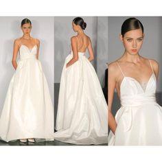 89 best Wedding Dresses :) images on Pinterest   Alon livne wedding ...