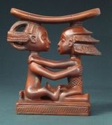 African Luba Head Rest (19th century)