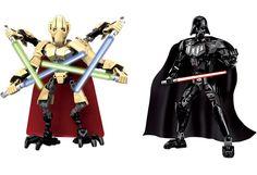 2016 New LEPINE Star Wars Blocks Darth Vader General Grievous Figures Building Bricks Toy Set Compatible With Starwars