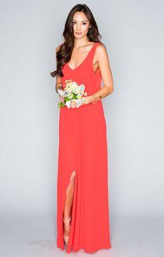 Kendall Maxi Dress ~ Hibiscus Crisp ~ Show Me Your Mumu