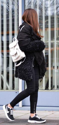 Consuelo Paloma Goes Street Style December 2014
