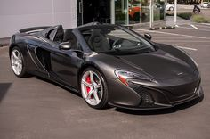 McLaren 650S Spider ¶ I don't care for the looks of the 650S coupe, but as a spider it's awesome.