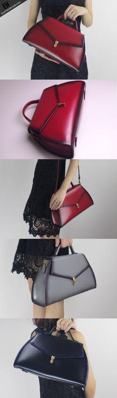 Genuine Leather bucket bag shoulder bag for women leather crossbody