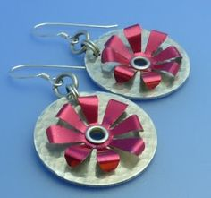 How to Make Riveted Recycled Soda Can Earrings - The Beading Gems Journal
