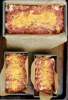 Low carb meatloaf packed with chunks of cheese adding flavors just like a burger, but this version is gluten free Meatloaf Burgers, Cheeseburger Meatloaf, Stuffed Meatloaf, Gluten Free Meatloaf, Low Carb Meatloaf, Healthy Meatloaf, Meatloaf Recipe With Cheese, Meatloaf Recipes, Low Carb Keto