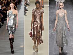 Lamê (Margiela, Lanvin, Valentino) - Superdisco, o pano brilhante confere brilho e glamour a qualquer roupa basiquinha
