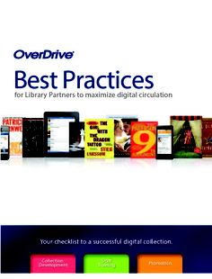 """We recently updated our """"Best Practices Handbook"""" with new ideas for promoting your library's digital collection. From social media tips to in-library promotions, it's all here."""