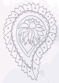 Batik Indiano desenho 1