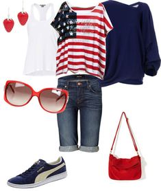 Fourth-Of-July-Fashion-Dresses-Outfits-For-Girls-2013-4th-of-July-2013-1