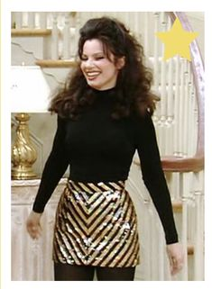 Fran Fine Outfits, Nanny Outfit, Fran Drescher, Work Clothes, Magic, Skirts, Inspiration, Style, Fashion