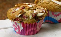 Vegan Almond Cherry Banana Muffins & A SweetGiveaway