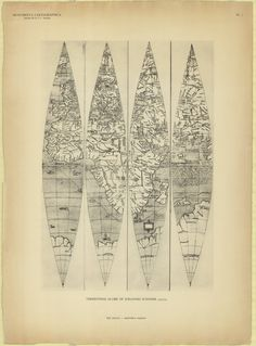 Terrestrial globe of Johannes Schöner, 1523/24
