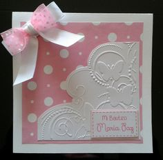 Baptism Cards, Ideas Para Fiestas, Baby Decor, Baby Cards, Baby Shower Parties, Quinceanera, Homemade, Stamps, Angeles