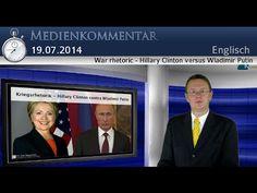 War rhetoric - Hillary Clinton versus Wladimir Putin | English | kla.tv