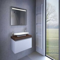 Badkamer LED spiegel met verwarming en sensor 120×60 cm   Pinterest