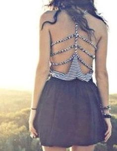 DIY Braided Summer Style T-shirt