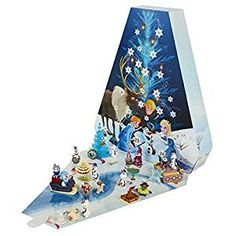 Enjoy counting down the 25 days until Christmas with Disney's Olaf's Frozen Adventure Advent Calendar. Open a new window each day to reveal a surprise figure. Frozen Advent Calendar, Toy Advent Calendar, Advent Calendars For Kids, Kids Calendar, Disney Frozen Olaf, Frozen Christmas, Days Until Christmas, Christmas Fun, Holiday Fun