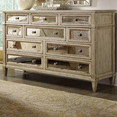 Hooker Furniture Sanctuary 10 Drawer Dresser & Reviews | Wayfair