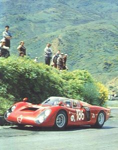 I don't know where this is, but with an Alfa at speed, it's simply a great day to be alive.