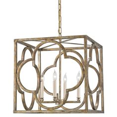 Material: Wrought Iron  Finish: Peppercorn Gold