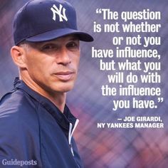 He's not my favorite of Yankee's managers, but I will support my team no matter what.