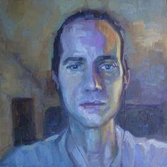 Artista pinta amigos do Skype