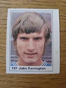 Marshall Cavenish Cut-Out/Sticker: Leicester City - John Farrington Leicester, Baseball Cards, Stickers, City, Cities, Decals