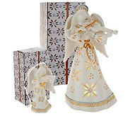 Temp-tations 8 Illuminated Ceramic Character w/ Ornament - H206216