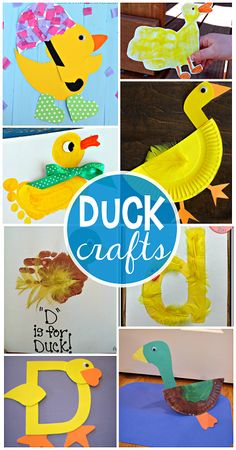 Darling Duck Crafts for Kids to Make - Crafty Morning