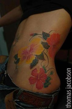 Yellow hibiscus tattoo-Hawaii state flower and my next tat to remember this wonderful paradise :)
