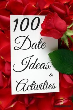 Whether you've been married for 30 years or you're just starting out, here are 100 ideas for dates and ways to spend time together. Never run out of ideas again!