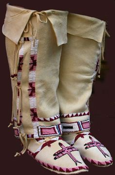 There are several different moccasins on this site...