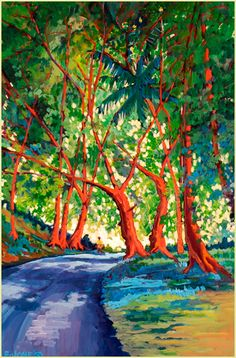 Ed Lane - Maui Hawaii Artist - Limited Editions