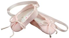"""18"""" DOLL SHOES FOR AMERICAN GIRL Clothes - Pink Ballet Slippers Dance in Dolls & Bears, Dolls, Clothes & Accessories 