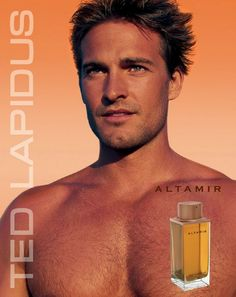 Images de Parfums - Ted Lapidus : Altamir Perfume Adverts, Ted Lapidus, Dolce And Gabbana Man, Steve Mcqueen, Vintage Ads, Handsome, Celebs, Skin Care, Cosmetics