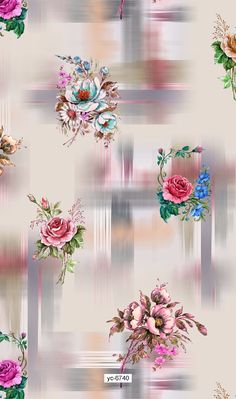 Bright Paintings, Man Wallpaper, Feather Art, Fabulous Fabrics, Digital Pattern, Flower Designs, Flower Art, Beautiful Flowers, Digital Prints