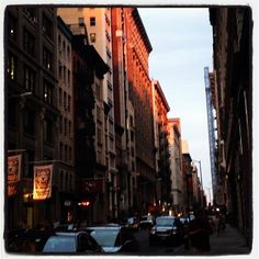 Evening on West 18th NYC