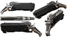Overwatch - Reapergun by Rariedash on DeviantArt