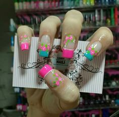 Cute Nail Art, Cute Nails, Pretty Nails, May Nails, Pink Nails, Pedicure Designs, Nail Art Designs, Color For Nails, Spring Nail Art