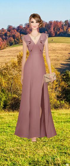 Floating on Air Grey Evening Dresses, Elegant Dresses, Evening Gowns, Beautiful Dresses, Prom Dresses, Formal Dresses, Covet Fashion, Fashion Design, Isabelle