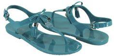 Coach Women's Helma Jelly Gladiator Sandals, Style A8249 (Tourmaline) (10 M US Women) COACH. $107.00