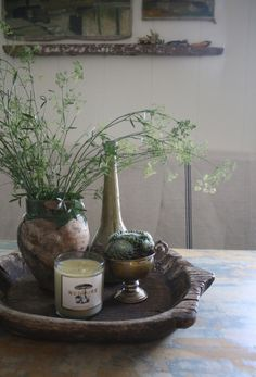 Fennel flowers in the home of Kelsey Garrity-Riley and Erik Riley