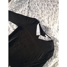 Moje Triko košile černá s limeckem od C&A! Velikost 40 / 12 / M za200 Kč. Mrkni na to: http://www.vinted.cz/damske-obleceni/kosile/17171008-triko-kosile-cerna-s-limeckem.